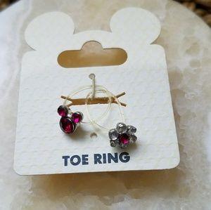 DISNEY Toe Rings